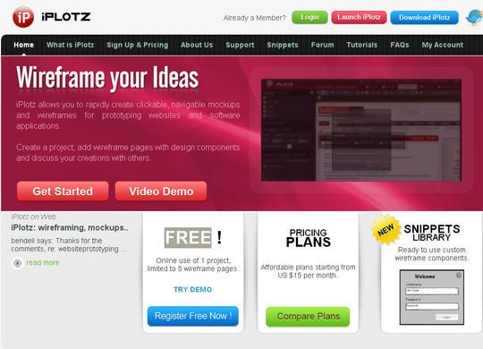11 Useful Free UI Wireframe Tools For Designer 8