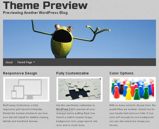 Collection of Free And Premium WordPress Themes With Grid Layouts 20