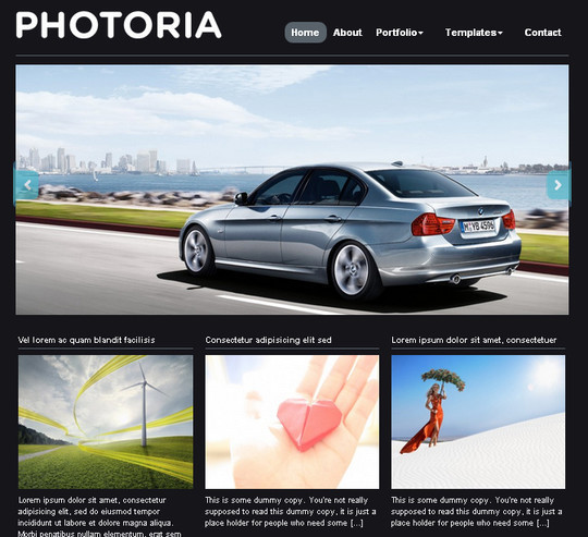 Collection of Free And Premium WordPress Themes With Grid Layouts 13
