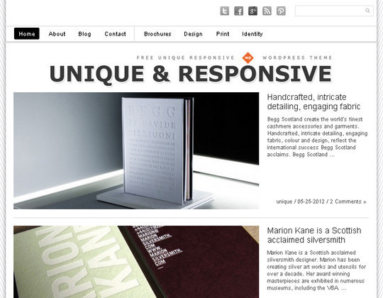 Collection of Free And Premium WordPress Themes With Grid Layouts 23