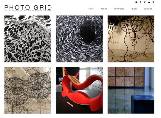 Collection of Free And Premium WordPress Themes With Grid Layouts 26