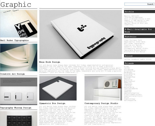 Collection of Free And Premium WordPress Themes With Grid Layouts 29