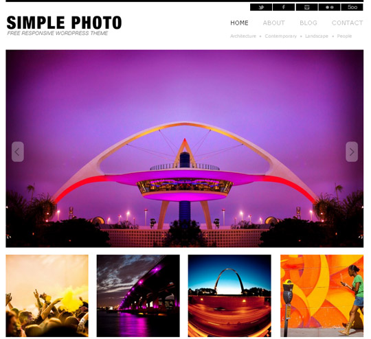 Collection of Free And Premium WordPress Themes With Grid Layouts 31
