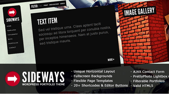 Collection of Free And Premium WordPress Themes With Grid Layouts 35