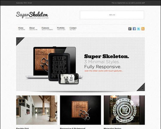 Collection of Free And Premium WordPress Themes With Grid Layouts 36