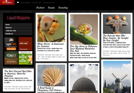 Collection of Free And Premium WordPress Themes With Grid Layouts 37