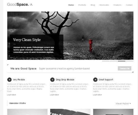 Collection of Free And Premium WordPress Themes With Grid Layouts 39