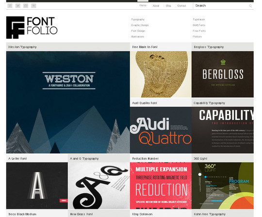 Collection of Free And Premium WordPress Themes With Grid Layouts 5