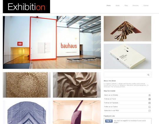 Collection of Free And Premium WordPress Themes With Grid Layouts 2