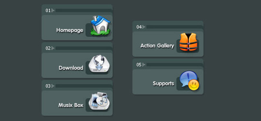 45 Creative Buttons And Badges Tutorials 24