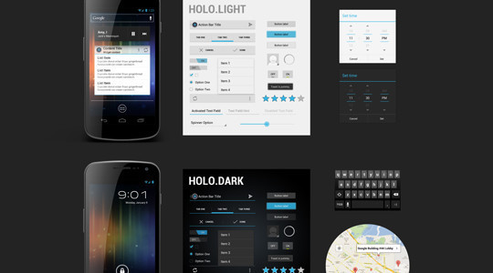 40 Fresh Scalable Free PSDs Released By Dribbble 16