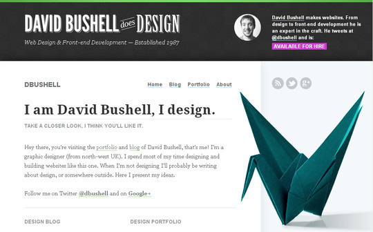 40 Inspirational Websites Powered By HTML5 13