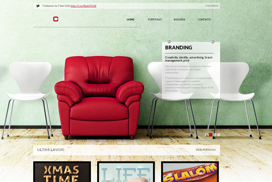 40 Inspirational Websites Powered By HTML5 6