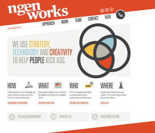 40 Inspirational Websites Powered By HTML5 23
