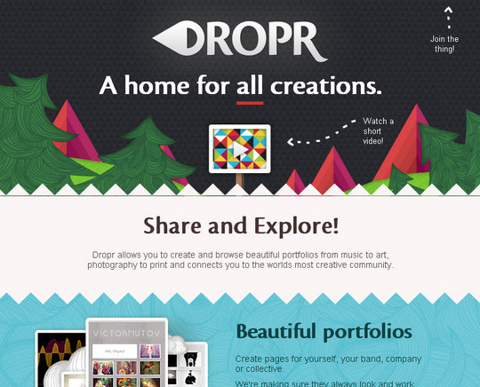 40 Inspirational Websites Powered By HTML5 2