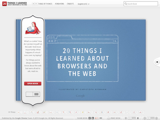 40 Inspirational Websites Powered By HTML5 26