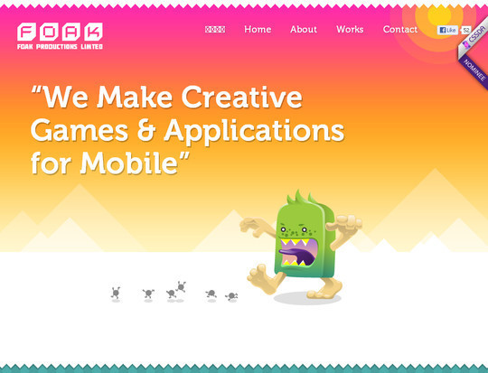 40 Inspirational Websites Powered By HTML5 29