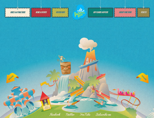 40 Inspirational Websites Powered By HTML5 38