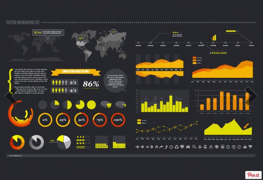 15 Free Infographic Design Kits (PSD, AI, and EPS Files) 7
