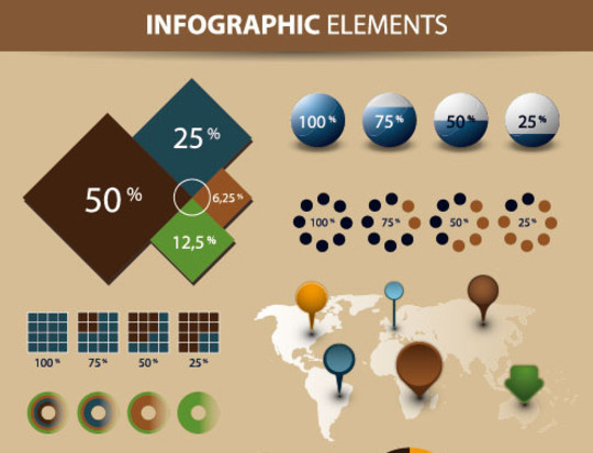 15 Free Infographic Design Kits (PSD, AI, and EPS Files) 9