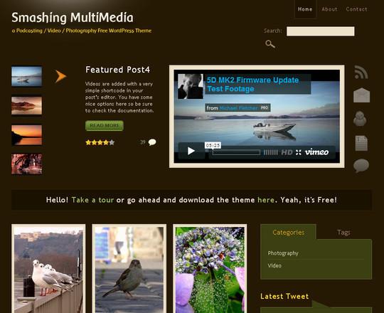 44 Powerful Yet Free Wordpress Portfolio Themes 16