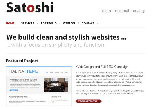 44 Powerful Yet Free Wordpress Portfolio Themes 17