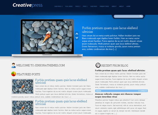 44 Powerful Yet Free Wordpress Portfolio Themes 19
