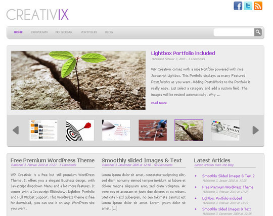 44 Powerful Yet Free Wordpress Portfolio Themes 24
