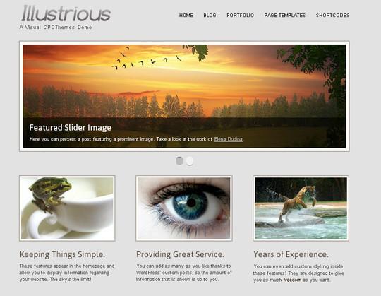 44 Powerful Yet Free Wordpress Portfolio Themes 26