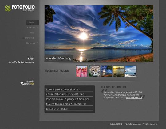 44 Powerful Yet Free Wordpress Portfolio Themes 35