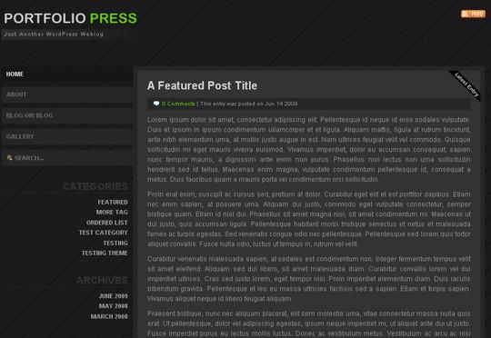 44 Powerful Yet Free Wordpress Portfolio Themes 38