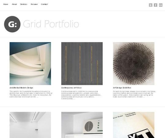 44 Powerful Yet Free Wordpress Portfolio Themes 4