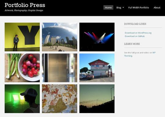 44 Powerful Yet Free Wordpress Portfolio Themes 5