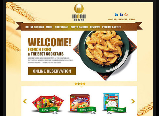 17 Free PSDs Of Website Themes 2