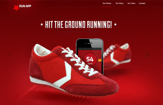 17 Free PSDs Of Website Themes 13