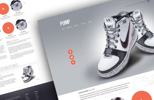 17 Free PSDs Of Website Themes 17