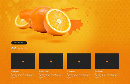 17 Free PSDs Of Website Themes 15