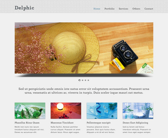 17 Free PSDs Of Website Themes 9