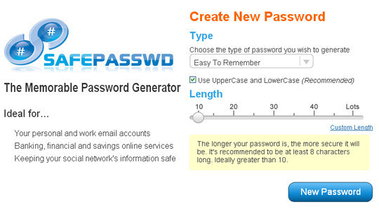 20 Useful Online Tools To Generate Random Passwords 13