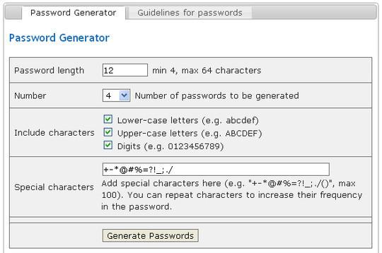20 Useful Online Tools To Generate Random Passwords 19