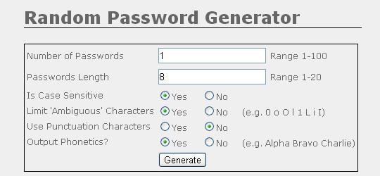 20 Useful Online Tools To Generate Random Passwords 3