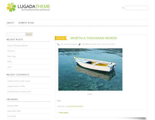 15 Free Minimal And Responsive WordPress Themes 13