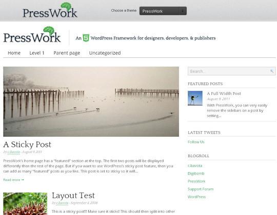15 Free Minimal And Responsive WordPress Themes 52