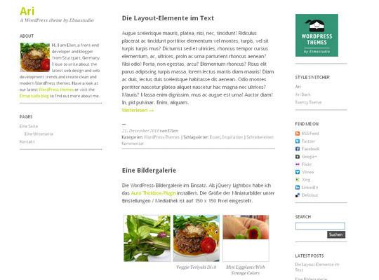 15 Free Minimal And Responsive WordPress Themes 2
