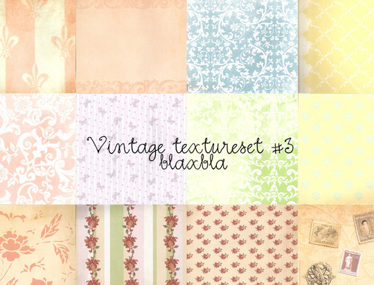 20 Free High Quality Vintage Texture Packs 18