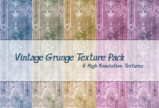 20 Free High Quality Vintage Texture Packs 3