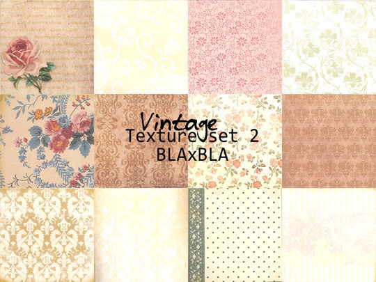 20 Free High Quality Vintage Texture Packs 9