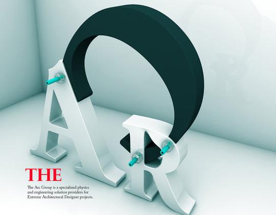 45 Creative 3D Effect In Logo Design 20