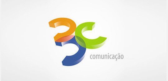 45 Creative 3D Effect In Logo Design 38