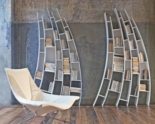 20 Most Creative And Unusual Bookshelf Designs 7
